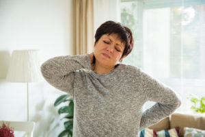 pain conditions such as chronic neck or back pain