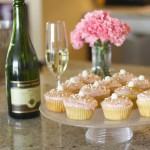Blondes On The Rocks | Sally & Georgia | Champagne Cupcakes