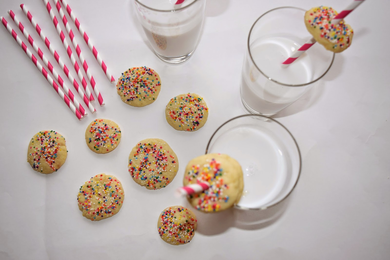 homemade milk & cookies recipe