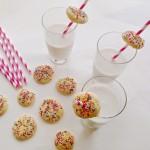 Mini Sugar Cookies & Milk | Homemade