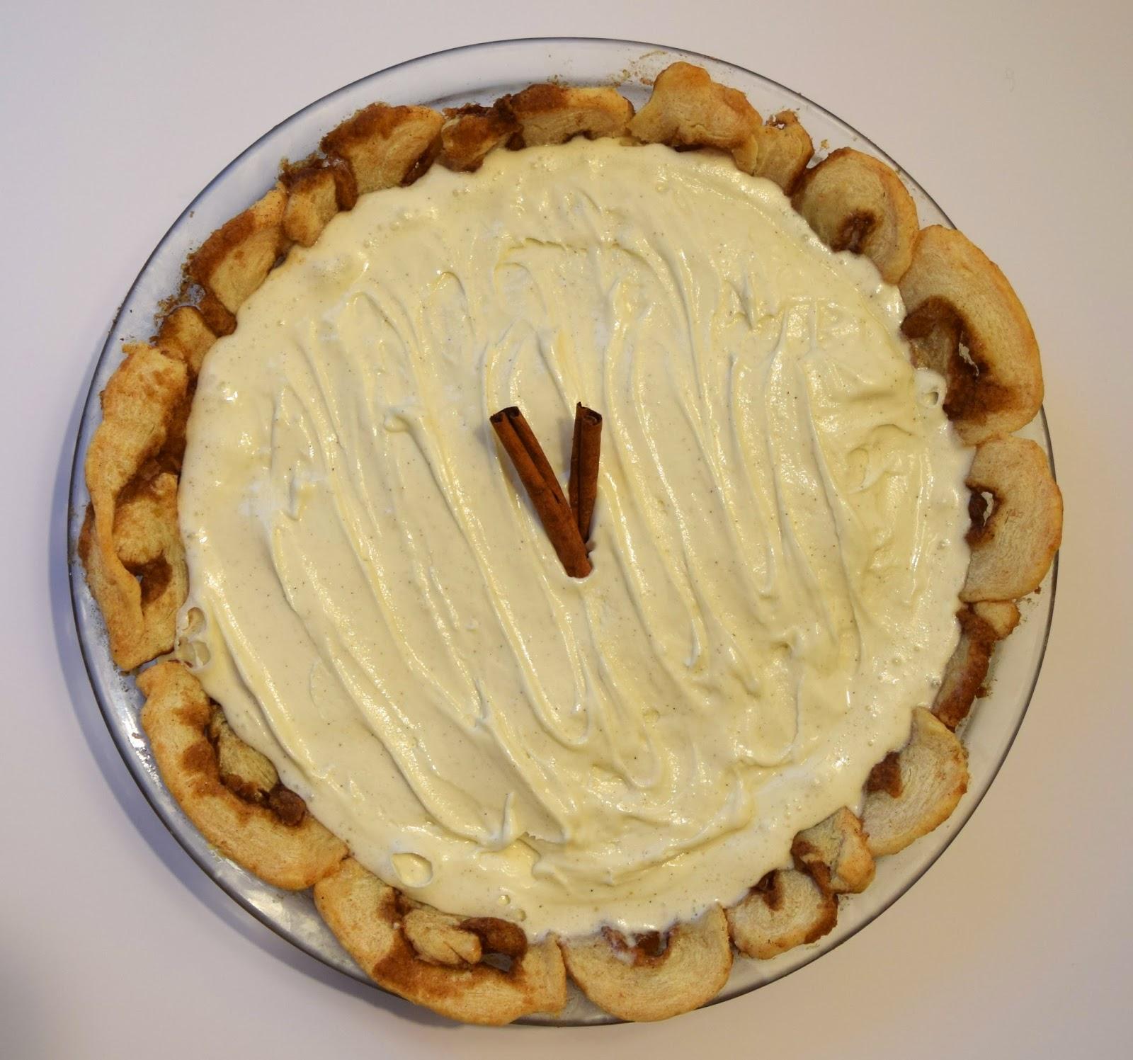 cinnamon bun pie crust recipe
