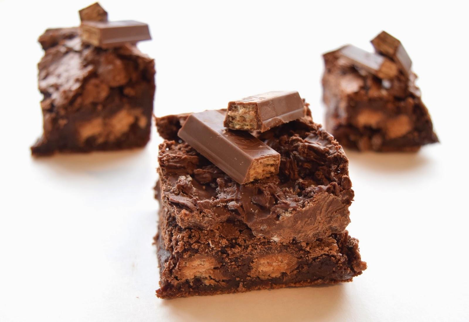 kit kat brownies
