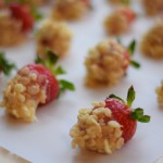 Rice Krispie Strawberries