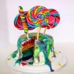 Homemade Psychedelic Tie Dye Cake Recipe