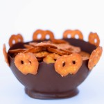 Mini Pretzel Crisp Chocolate Balloon Bowls Recipe