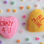 Homemade Conversation Heart Cake Recipe