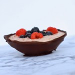 Raspberry Mousse in a Chocolate Bowl Recipe