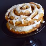 Cinnamon Bun Layered Cake Recipe