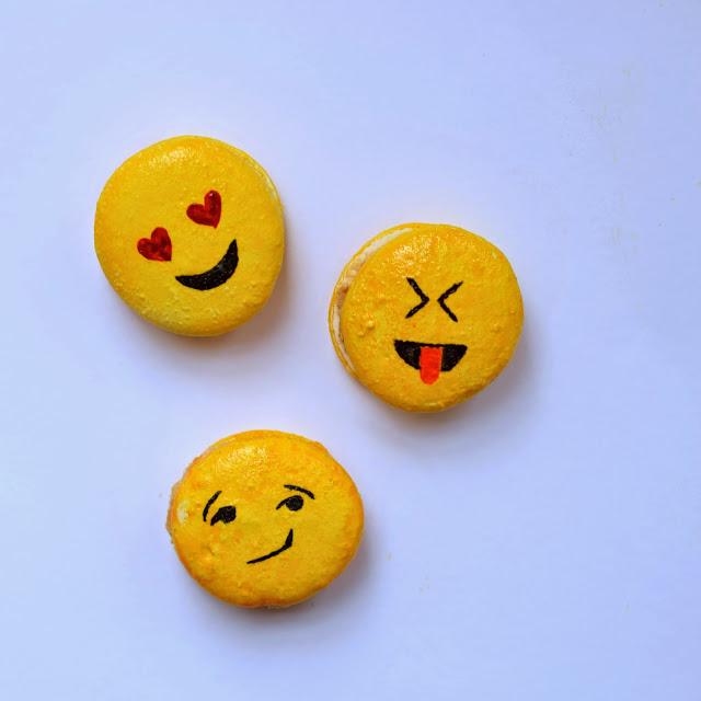 emoji macaron recipe