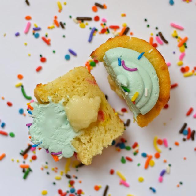funfetti cake batter cupcakes