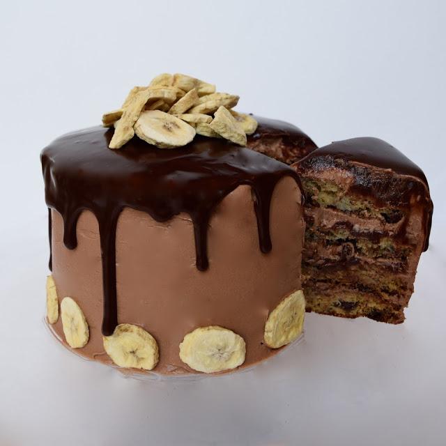 banana nutella cake recipe
