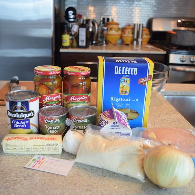 chicken riggies ingredients