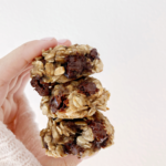 Three Ingredient Healthy Banana Bread Cookies