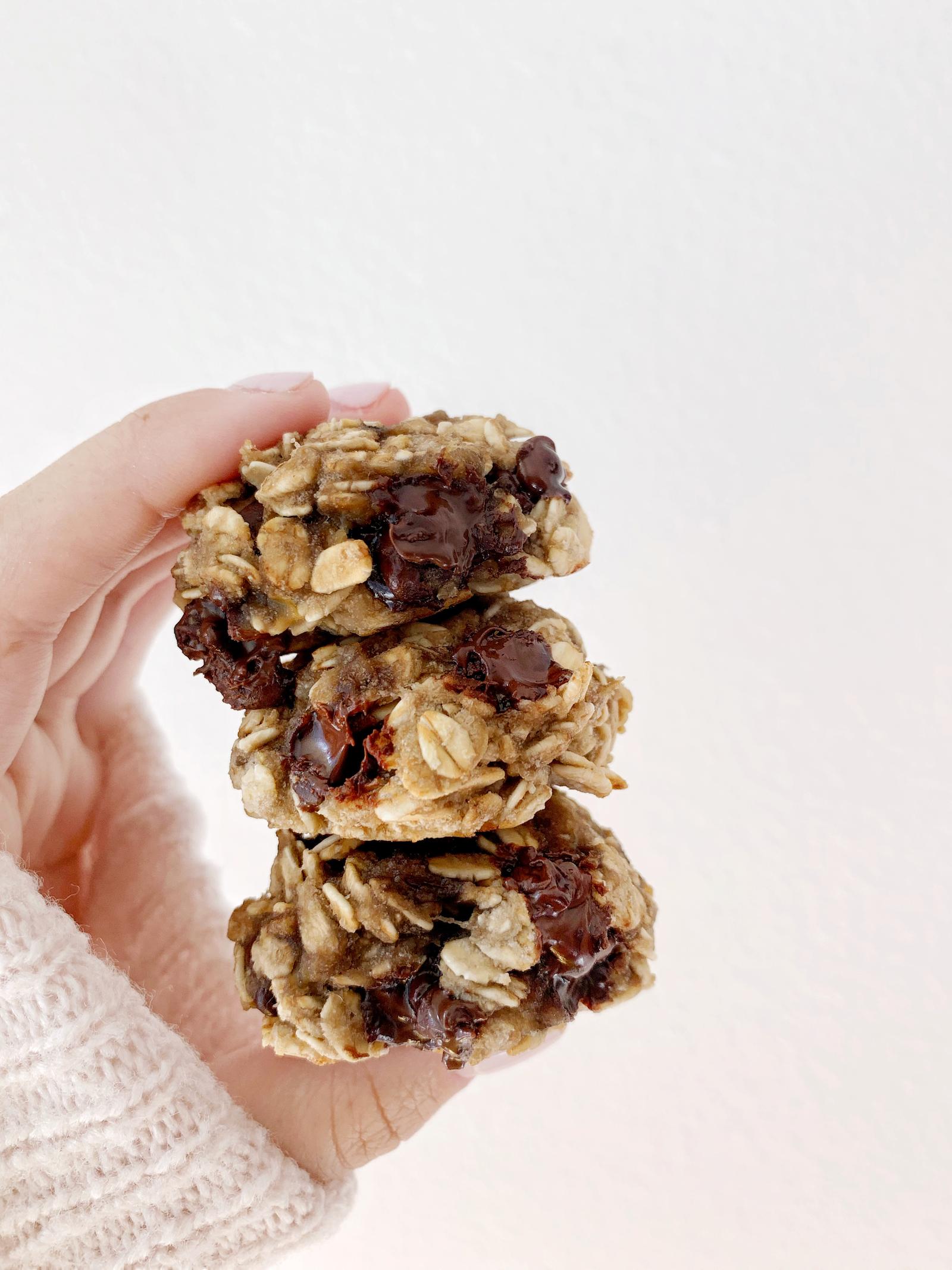 vegan banana bread cookie recipe