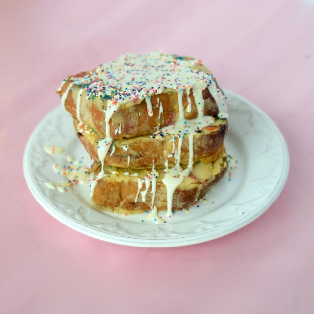 Cake Batter French Toast Recipe