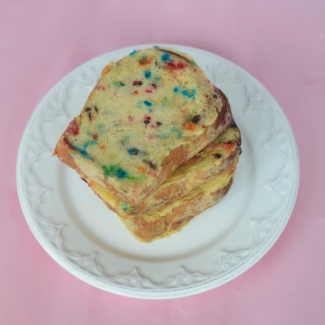 Cake Batter French Toast Recipe