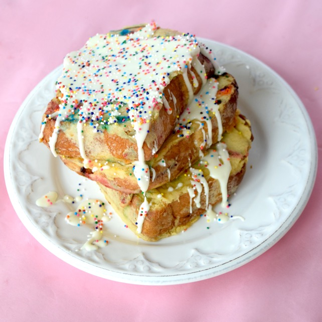 Funfetti French Toast Recipe