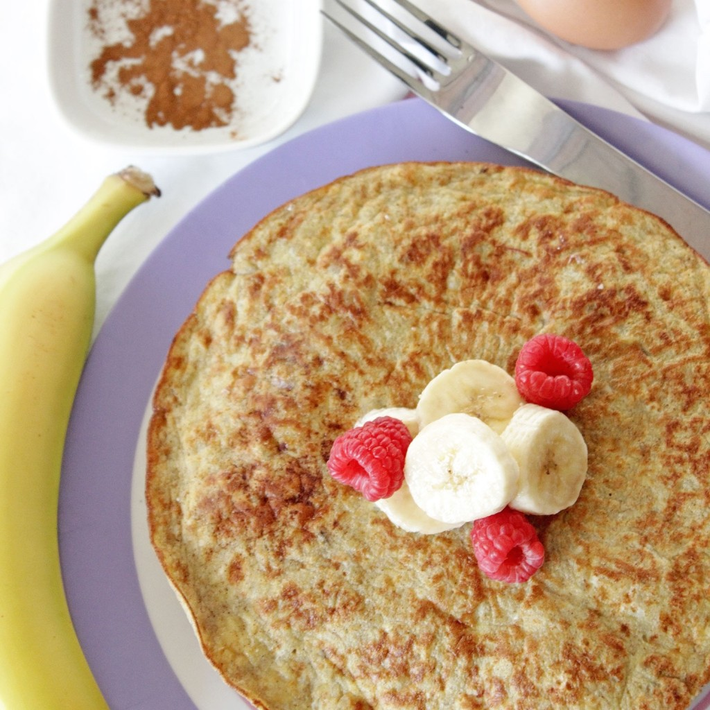 Kids Banana Pancake Recipe