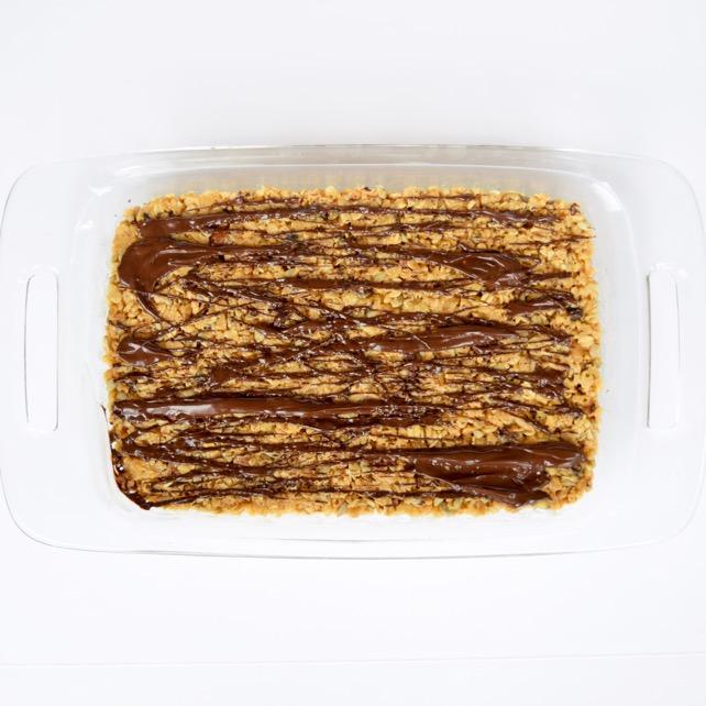 Homemade Peanut Butter Chocolate Granola Bars