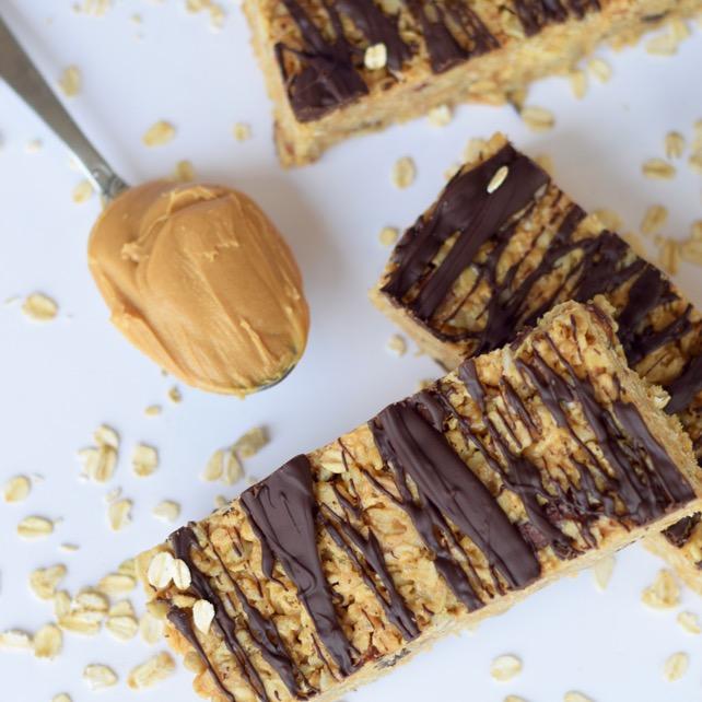 PB Chocolate Granola Bar Recipe