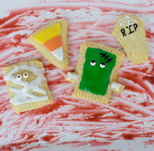 Homemade Halloween Pop-Tarts