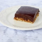 No Bake Peanut Butter Chocolate Ganache Bars