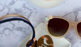 DIY Flower Sunglasses & Headband Tutorial