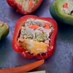Public Lives: Shannon O'Brien | Secret Recipes: Quinoa Stuffed Peppers