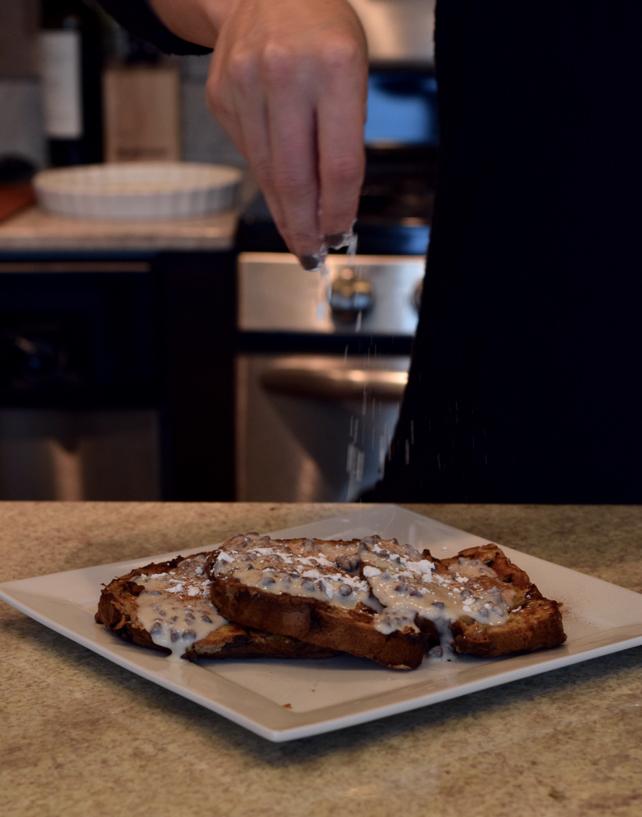 Cannoli French Toast