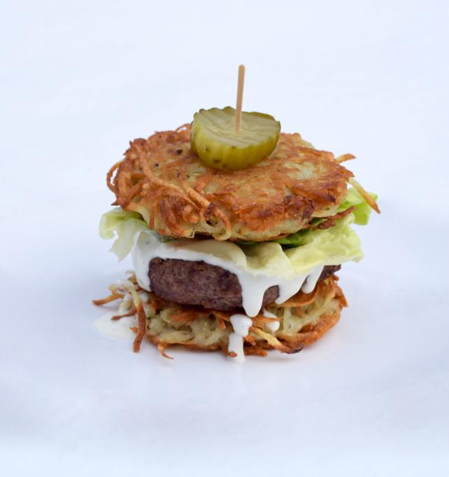 Latke Burger Recipe