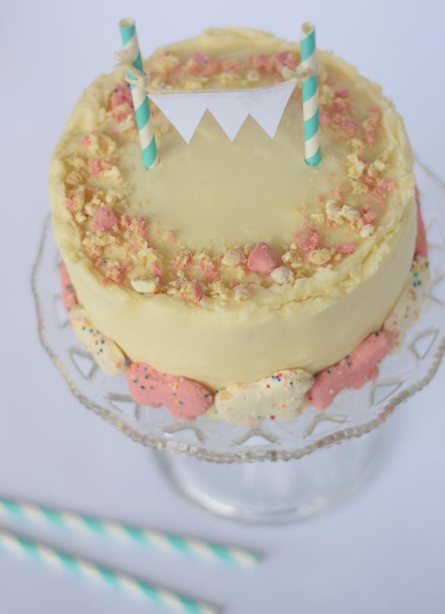 Circus Cookie Layered Cake Recipe