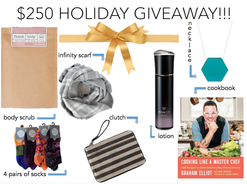 $250 Holiday Giveaway
