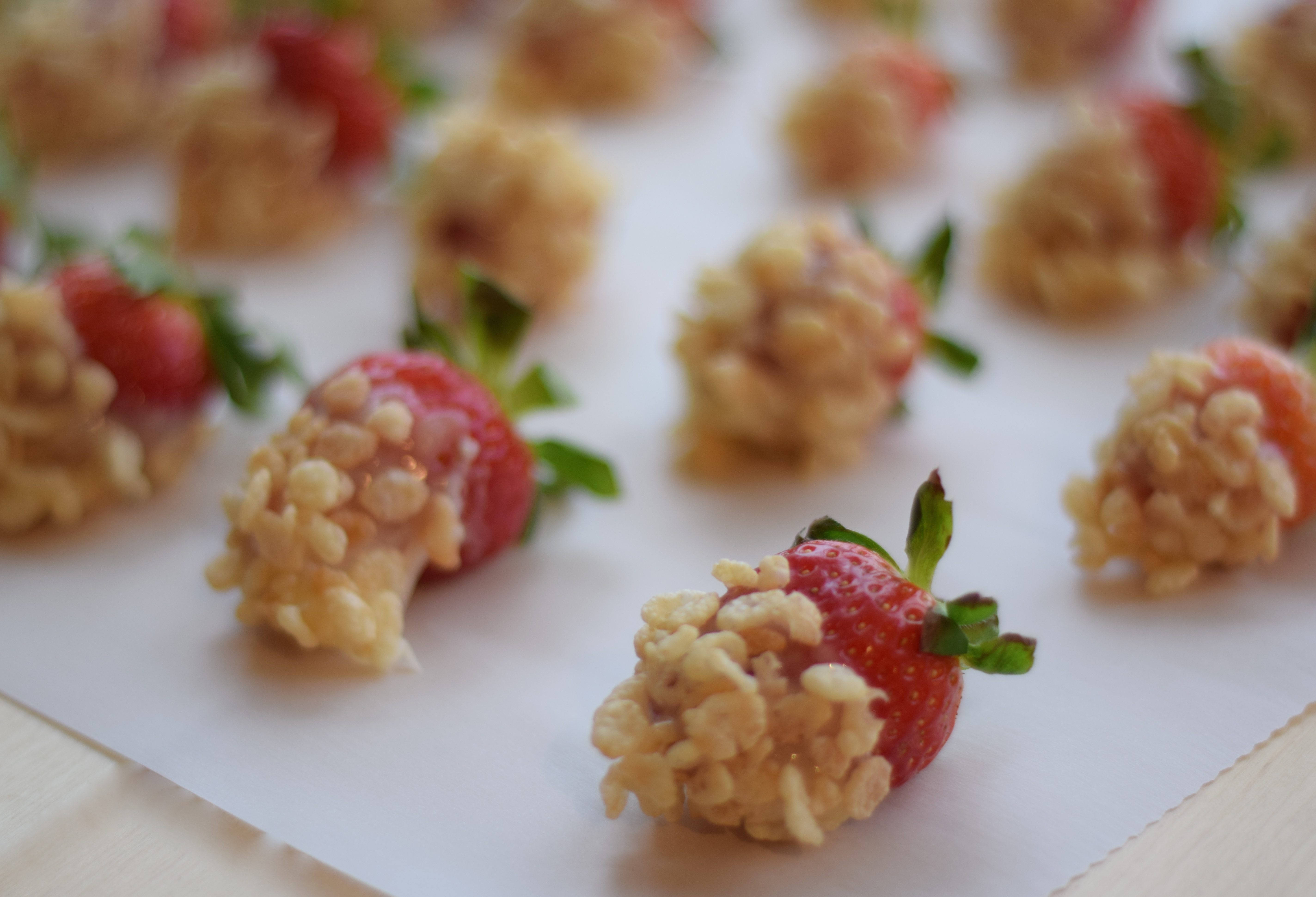 Rice Krispie Strawberry Recipe