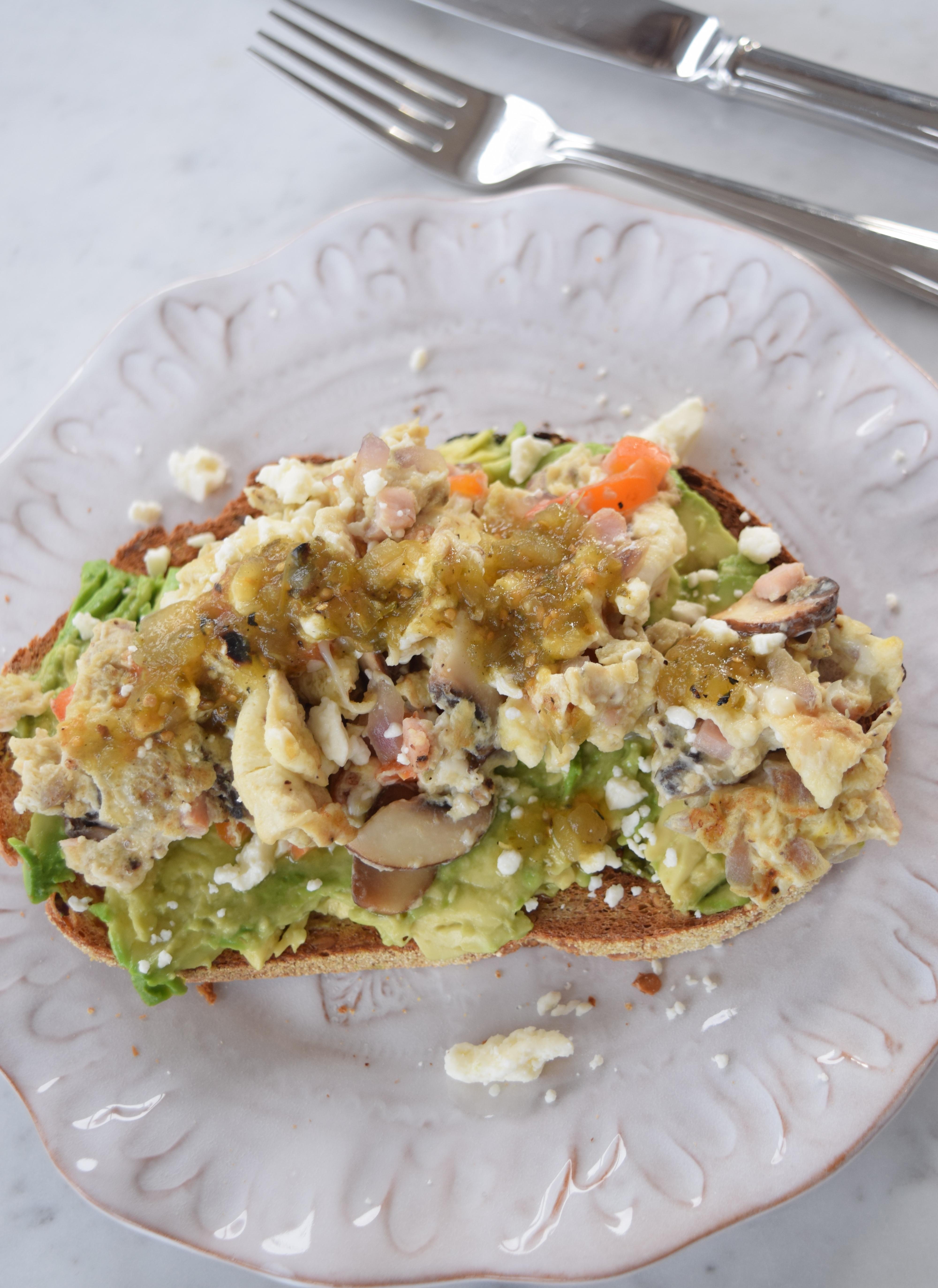 Egg Avocado Toast Recipe