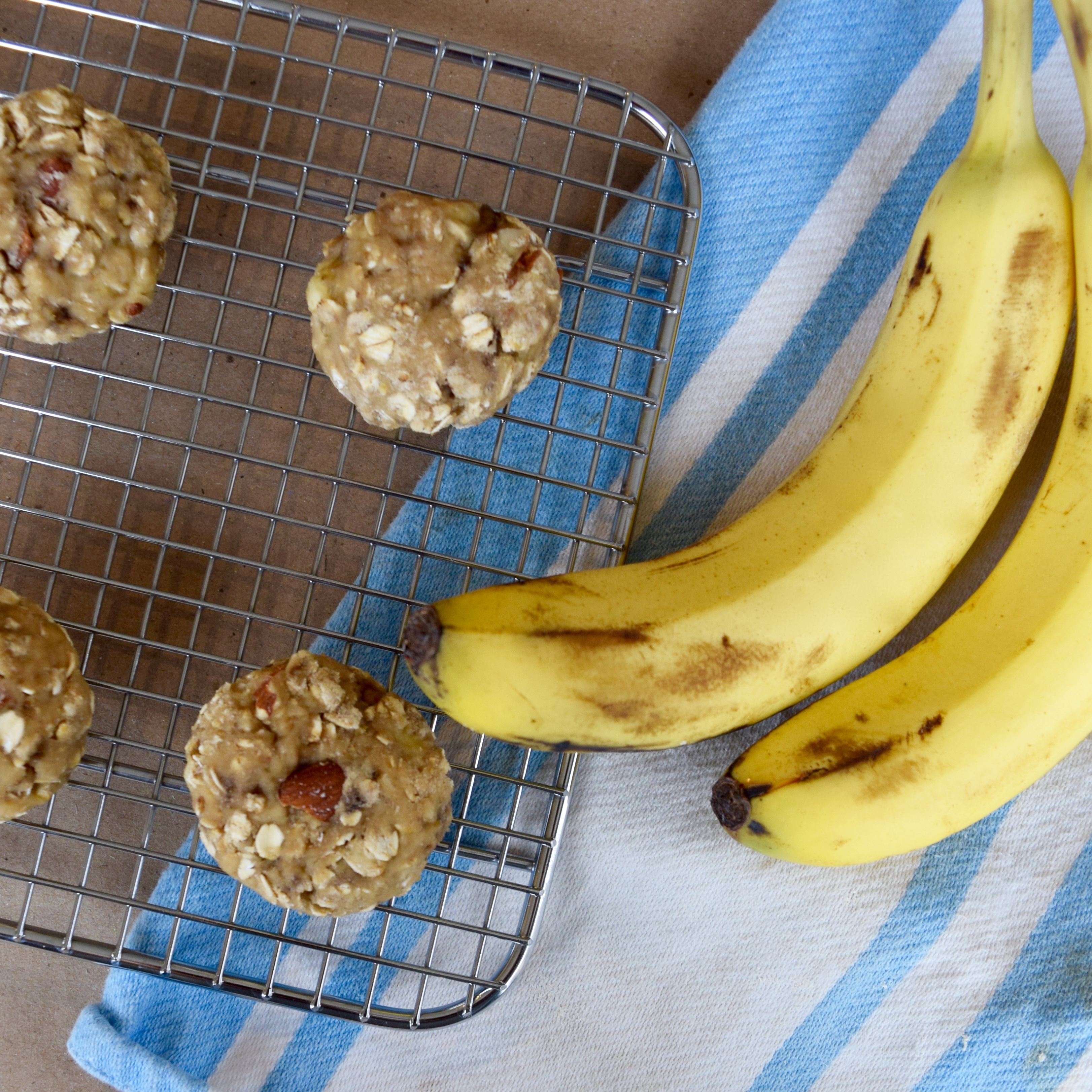 Healthy Banana Bread Cookies