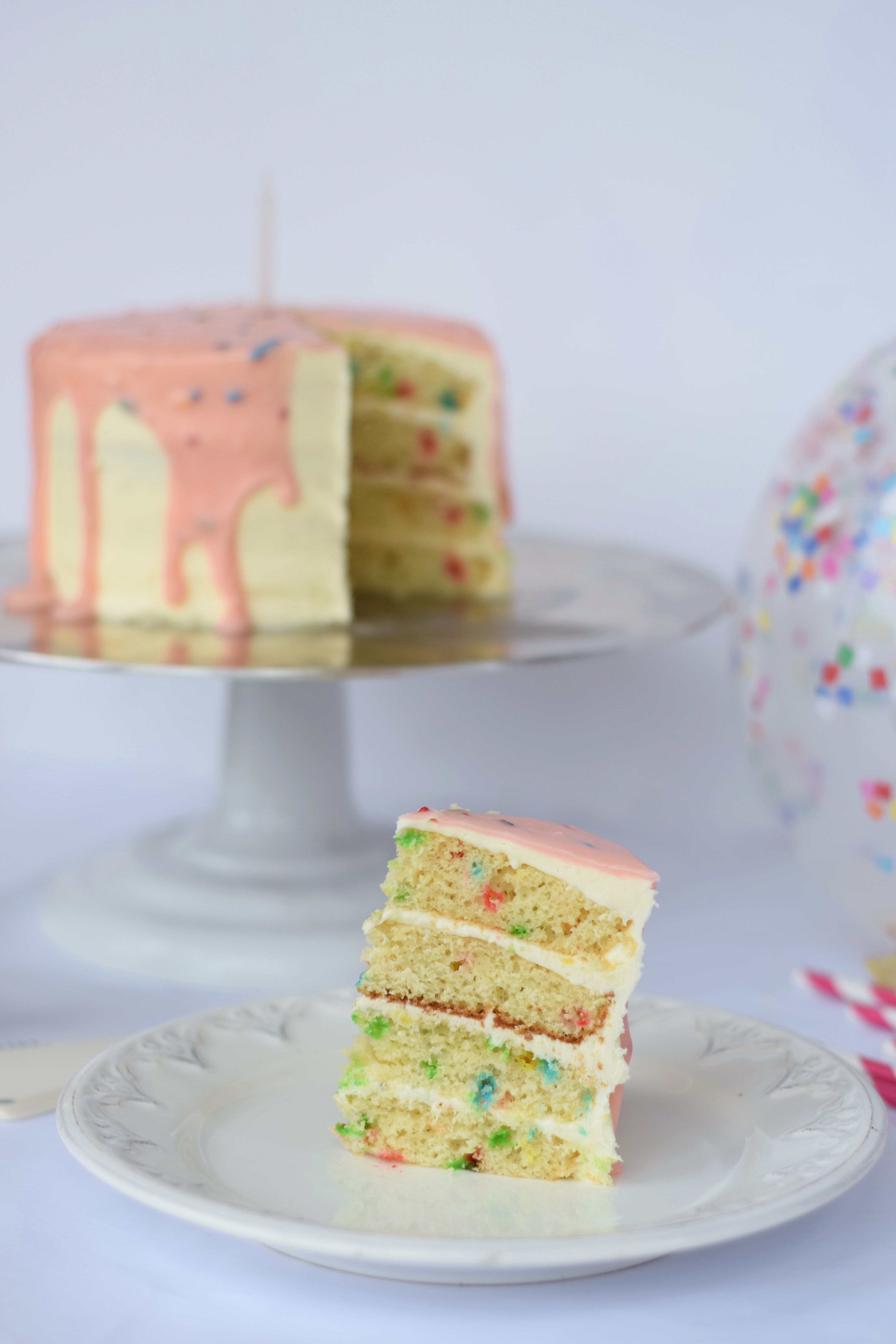 Funfetti Layered Cake Recipe