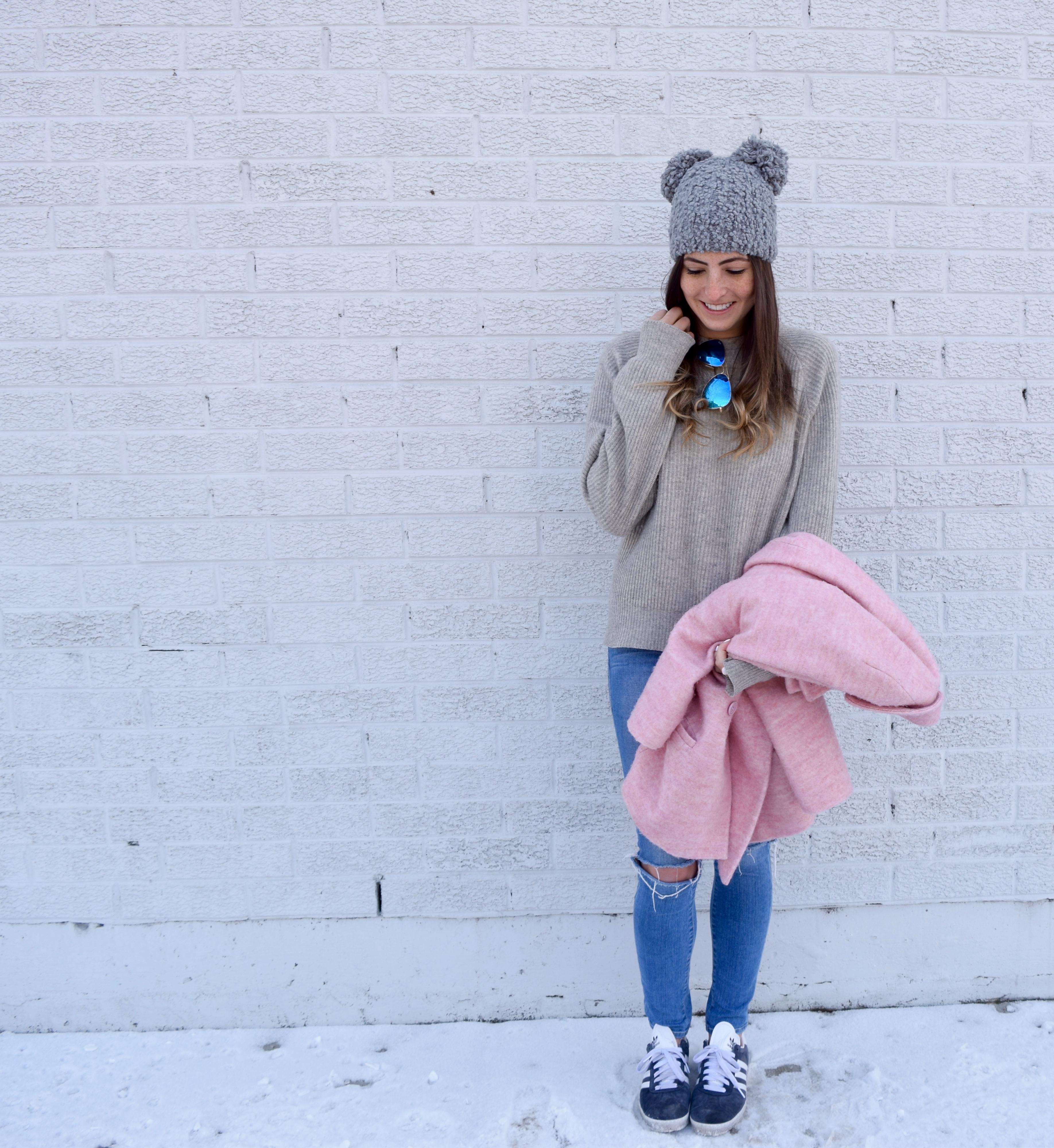 Pastel Pink Coat Blog