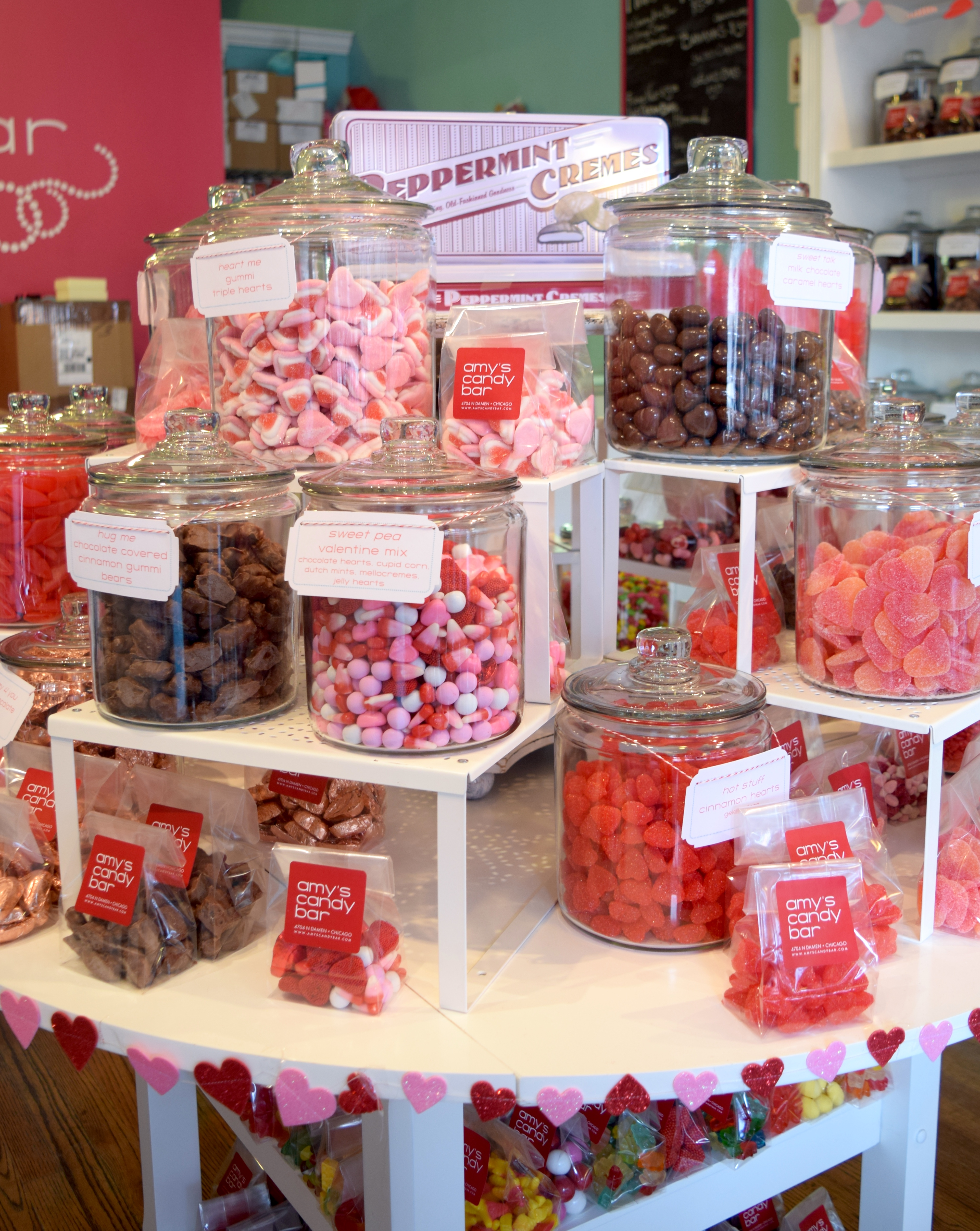 Amy's Candy Bar Chicago Valentine's Day