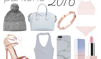 Shop Pantone 2016 Colors of the Year Rose Quartz & Serenity