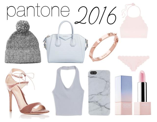 Shop Pantone 2016 Colors of the Year Rose Quartz & Serenity