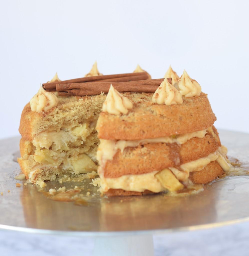 Apple Pie Layered Cake Recipe