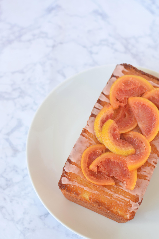 Grapefruit Loaf Cake Recipe
