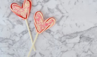 DIY Valentine's Day Dessert Cards