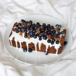 Eating Healthy On A Budget: Blueberry Loaf Cake