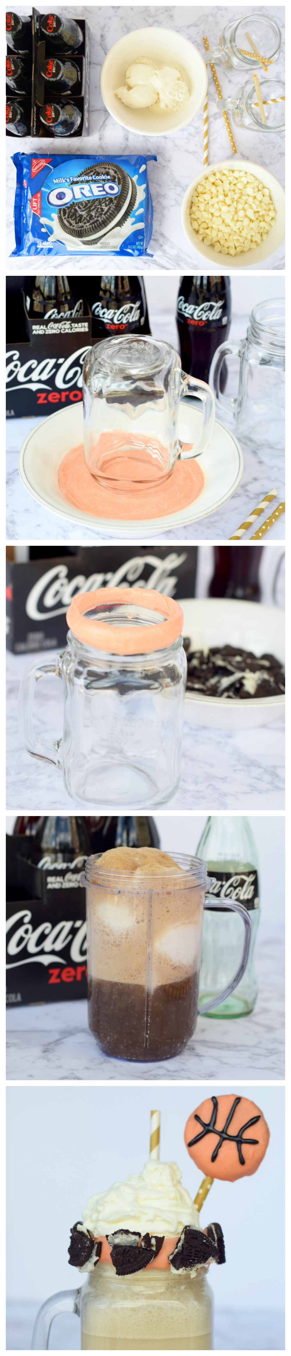 Coca-Cola Zero Ice Cream Float Recipe