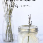 DIY Lavender Coconut Oil Body Cream