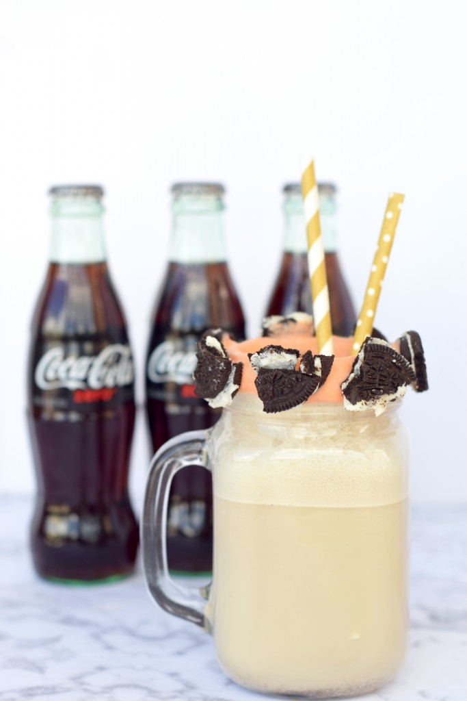 Coca-Cola Zero Coke Ice Cream Float Recipe
