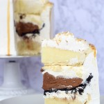 Chocolate Banana Coconut Pie Layered Cake Recipe