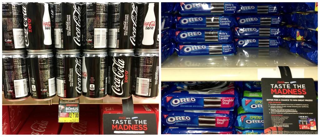 OREO Coca-Cola Zero TM
