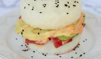Sushi Burger Recipe Tutorial
